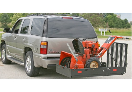 Trailer Hitch Carrier >> Uc500 Xl Heavy Duty Trailer Hitch Rack With Loading Ramp
