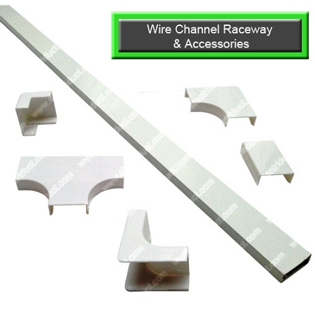 Wire Channel Surface Raceway And Accessories