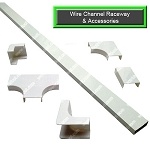 Wire Channel Raceway & Accessories