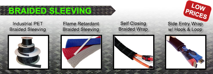 Braided Sleeving & Flame Retardant Cable Wraps | Electriduct