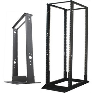 2 & 4 Post Open Frame Floor Racks - Quest
