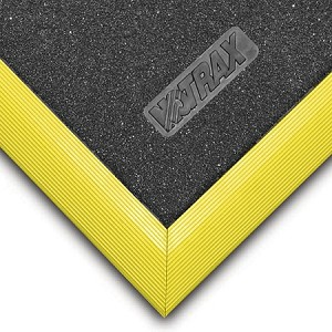 #856 Niru Cushion-Ease Solid GSII Floor Mat - NoTrax
