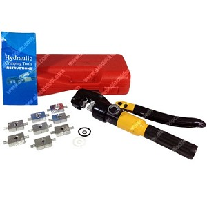 8 Ton Hydraulic Crimping Tool with 10mm Stroke
