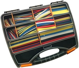590 Piece Assorted Heat Shrink Kit