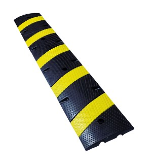 Modular Rubber Traffic Speed Bumps - Electriduct