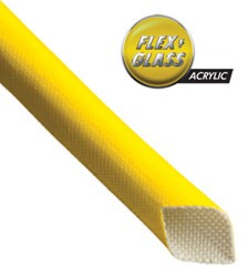 Acrylic Flex Glass Sleeving