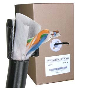 Cat6 UTP Direct Burial Outdoor Network Cable