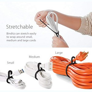Binditz - The Attachable Cable Wrap - UT Wire