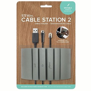Cable Station 2 & Mini Wire Organizers - UT Wire