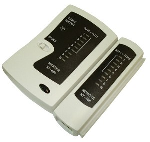 V-Max Cable Tester for RJ11 and RJ45