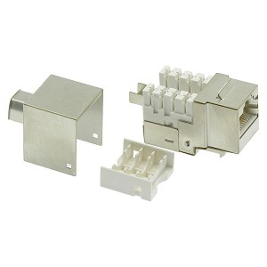 Cat5/Cat6 RJ45 110 Type Shielded Keystone Jacks