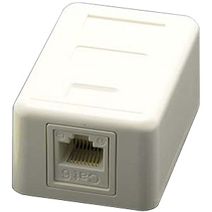Cat6 White Surface Mount Boxes