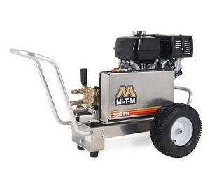 CBA Series Belt Drive Cold Water Pressure Washers (Gasoline) - Mi-T-M