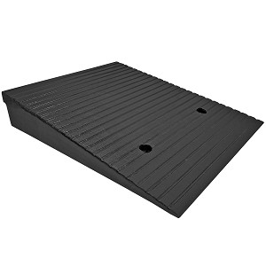 Mountable Rubber Threshold Ramps - Electriduct