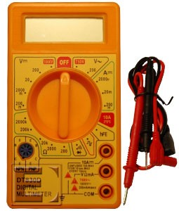Mini Digital Multimeter - DT830D