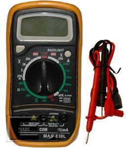 Digital Multimeter - MAS830L