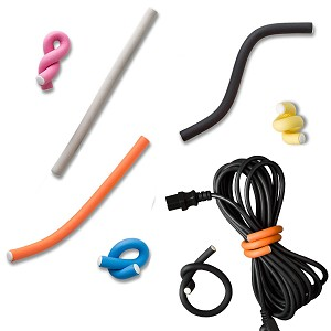 Flexi Ties Cushioned Twist Cable Wraps - UT Wire