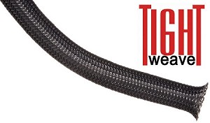 Flexo PET Tight Weave Braided Sleeving