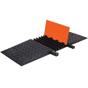 Guard Dog General-Purpose ADA Cable Protector Ramps - 5 Channel