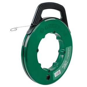 Greenlee Steel Fish Tape and Winder Case