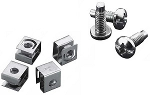 Hoffman Screws and Cage Nuts