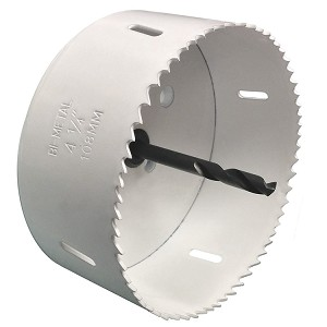 "Bi-Metal Hole Saws with 3/8"" Pilot Bit"