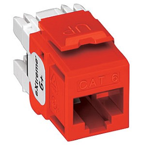 Levition eXtreme® Category 6+ Snap-In Connectors