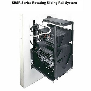 "Middle Atlantic 19"" Rotating Sliding Rail System SRSR"