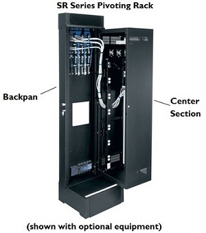 Middle Atlantic SR Series Pivoting Rack Enclosures