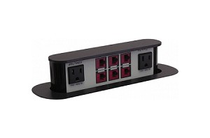 Pop-N-Plug Slim Tabletop Interconnect Boxes - Altinex
