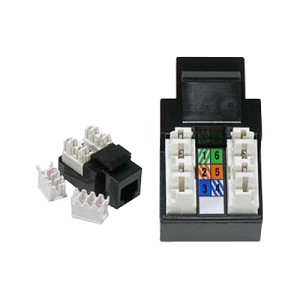[DHAV_9290]  RJ11/12 110 Type Keystone Jack | Connector | Wiring Termination Instructions And Diagrams Rj11 Rj45 Jacks |  | Electriduct.com