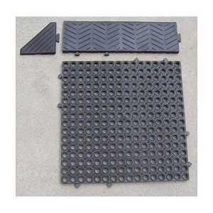 RubberForm Tread Safe Interlocking Mat