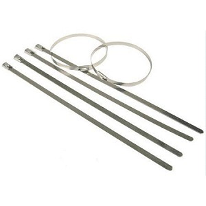 316 Stainless Steel Cable Ties (100 - 250 lbs)