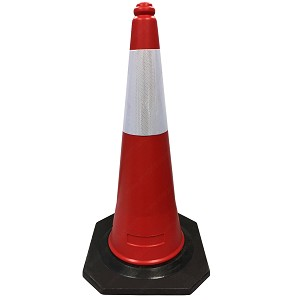 2-Piece Traffic Cones - Electriduct