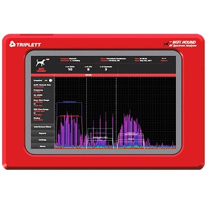 WiFi Hound 2.4 GHz & 5 GHz Wireless Network/RF Spectrum Analyzer - Triplett