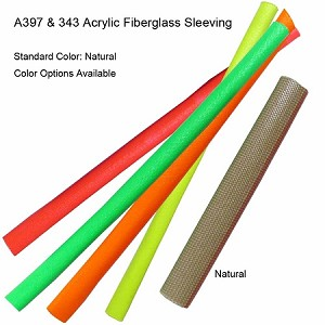 Varglas A397 and 343 Acrylic Fiberglass Sleeving