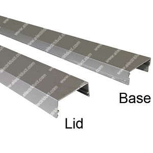 Wiremold AL2400 Series Aluminum Surface Raceway & Accessories